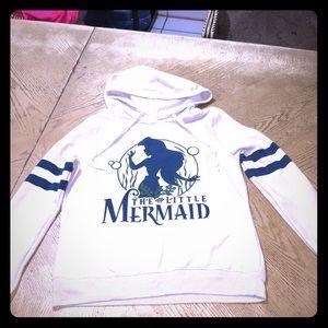 Disney little mermaid hoodie EUC